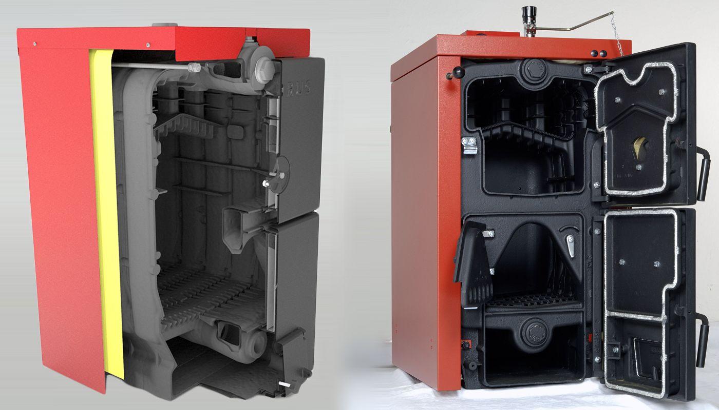 Комбинированный чугунный котел Viadrus U22