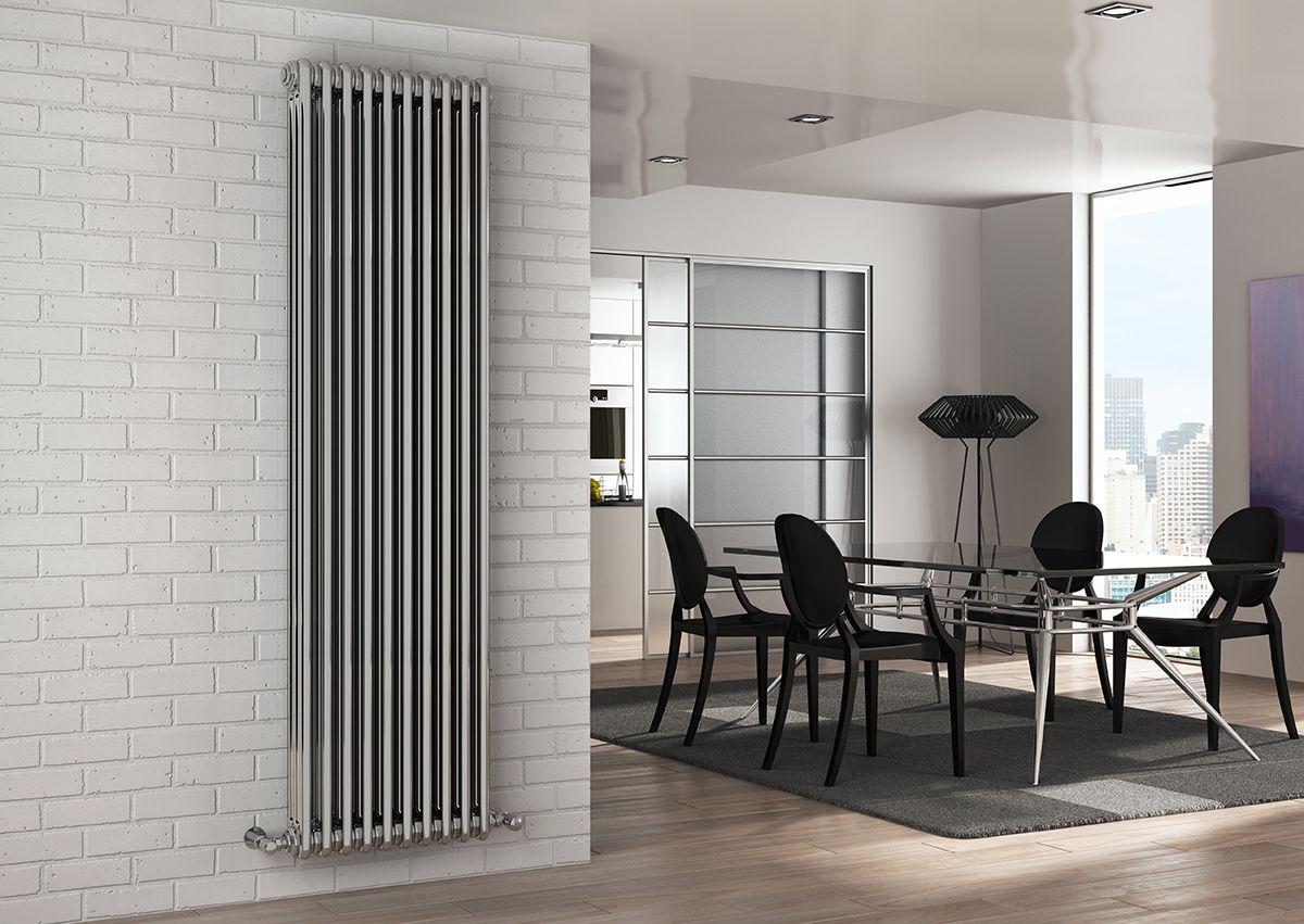 Трубчатые стальные радиаторы отопления вертикальные