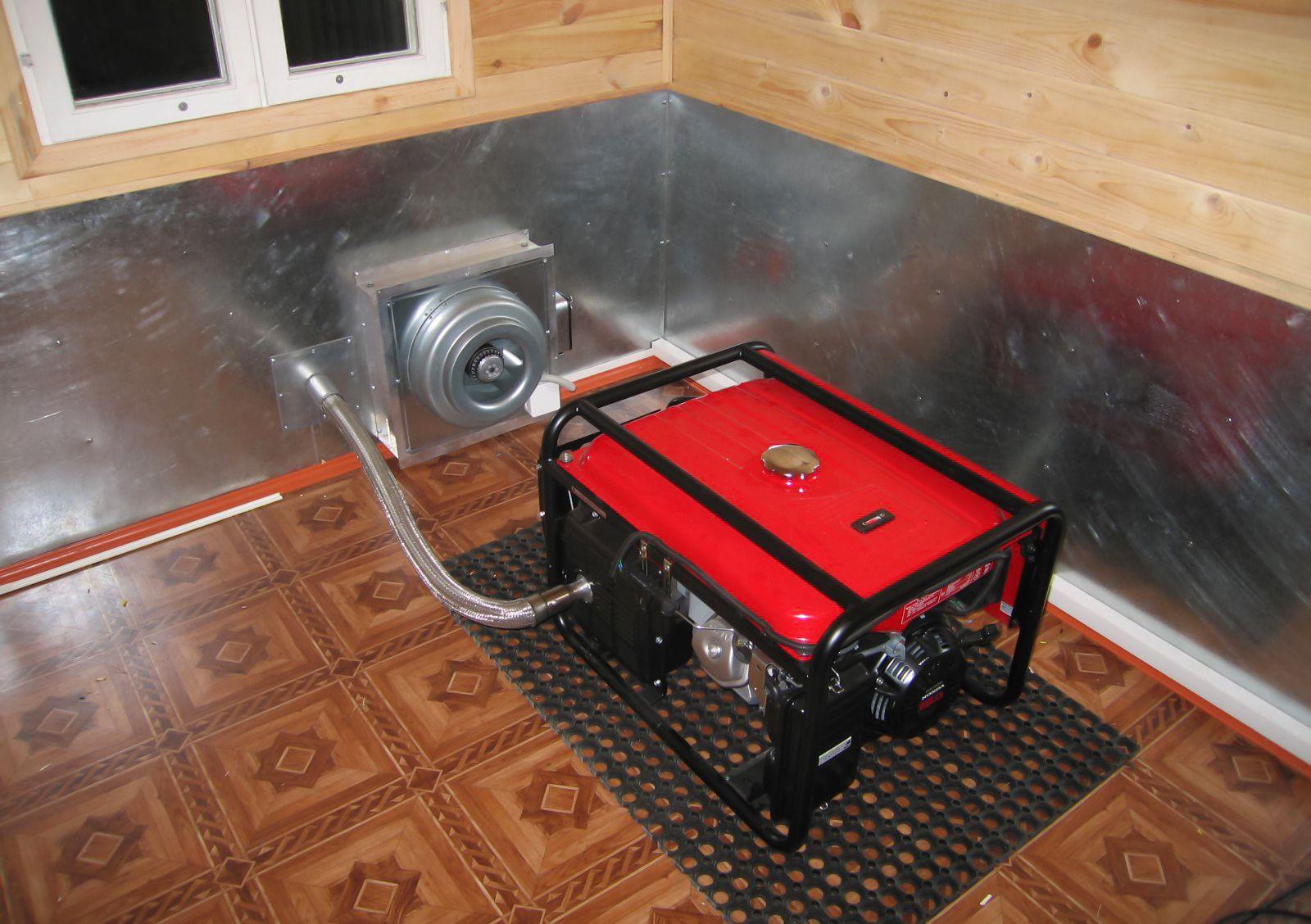 Электрогенератор в котельной