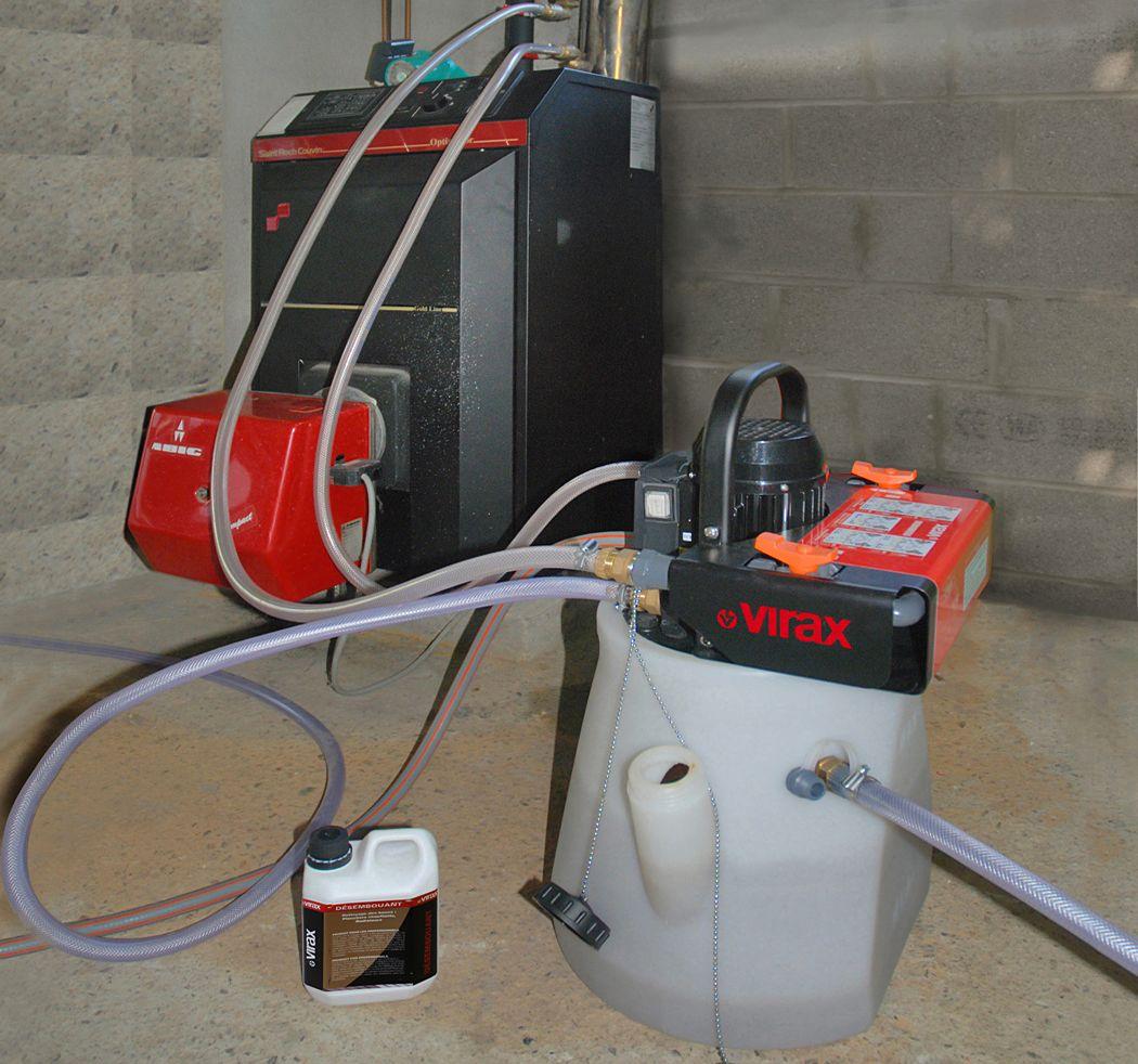 Гидродинамическая промывка системы отопления