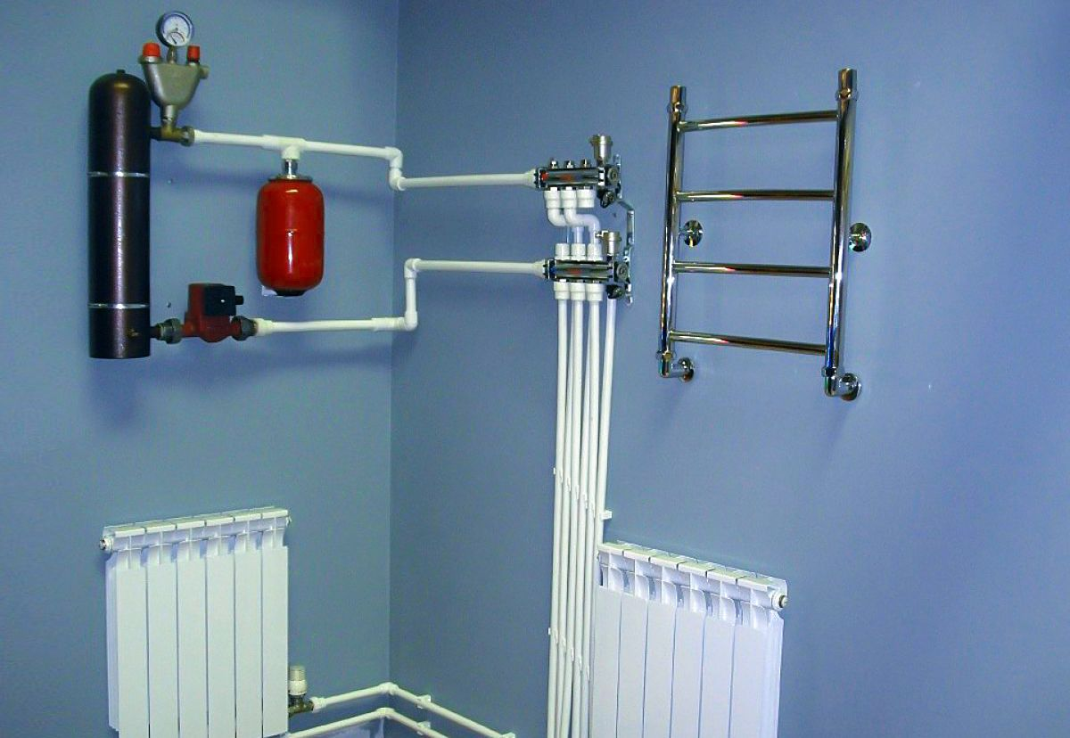 Индукционный электрокотел в частном доме