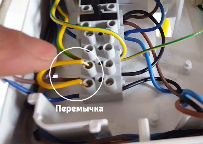Подключение термостата к электрокотлу