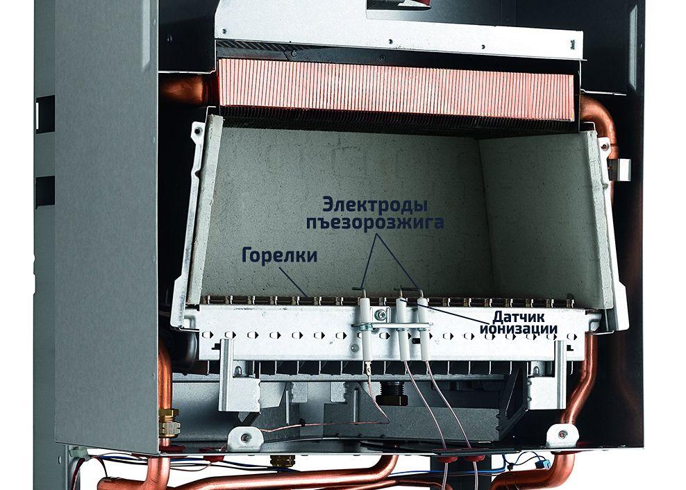 Электроды розжига в камере сгорания