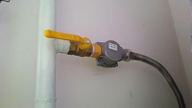 Газовый фильтр котла