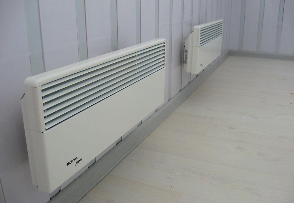 Отопление дома конвекторами