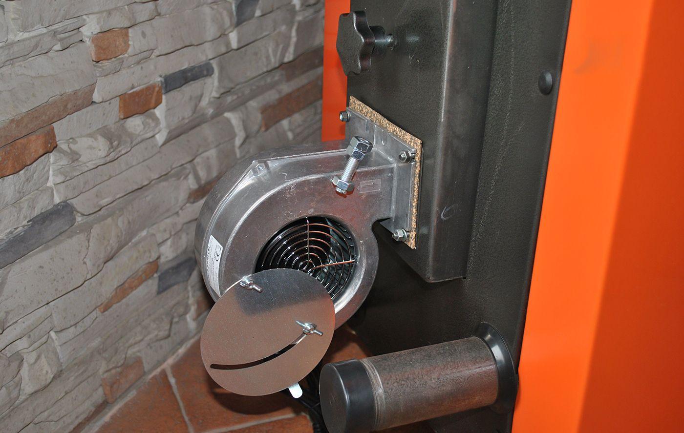 Установка вентилятора и автоматики на тт котел