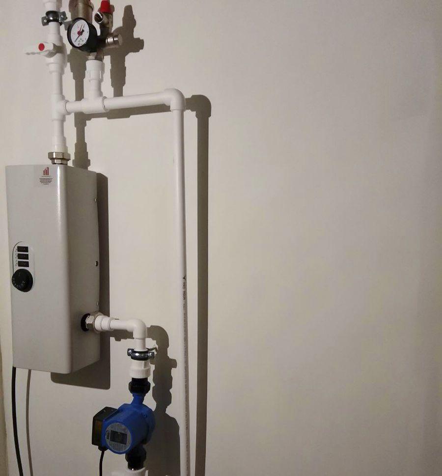 Электрокотел Ресурс ЭВПМ в частном доме