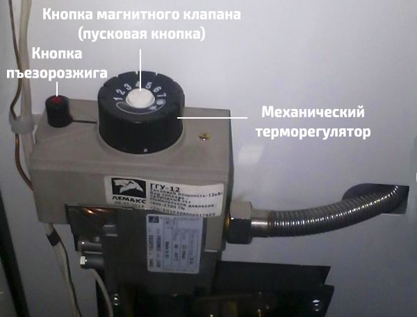Автоматика котла Лемакс