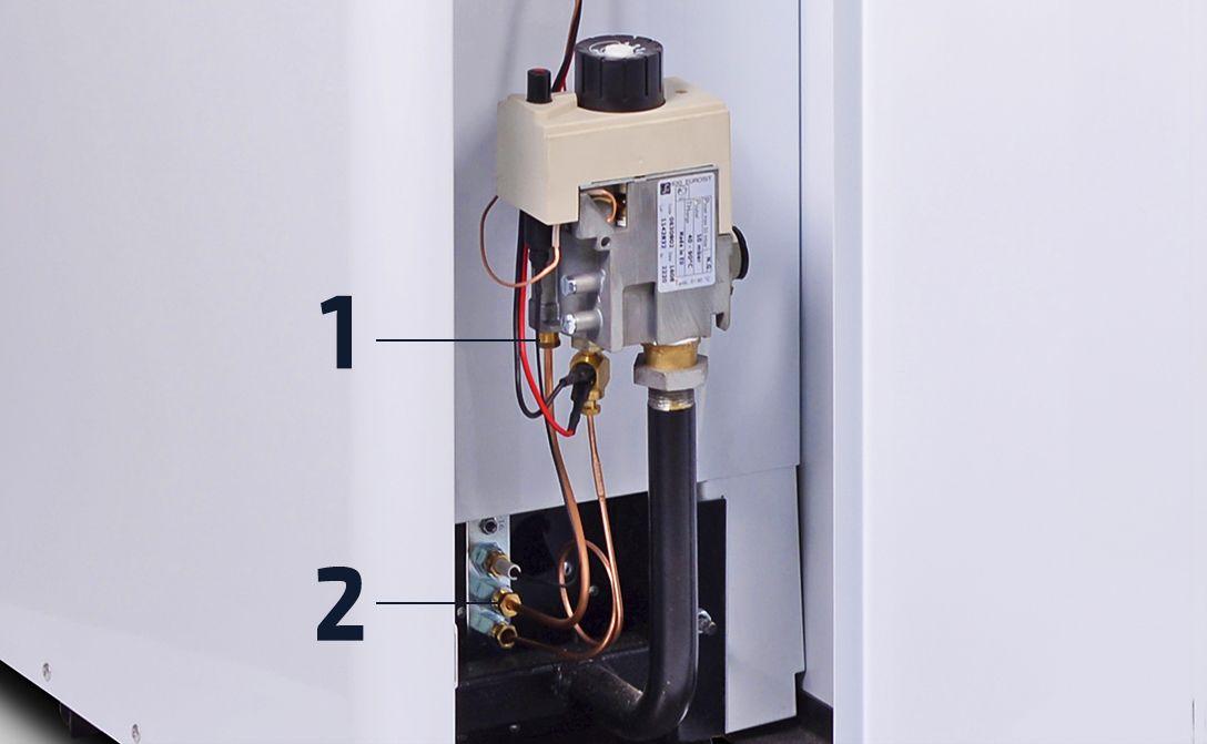 Порядок замены термопары газового котлоагрегата
