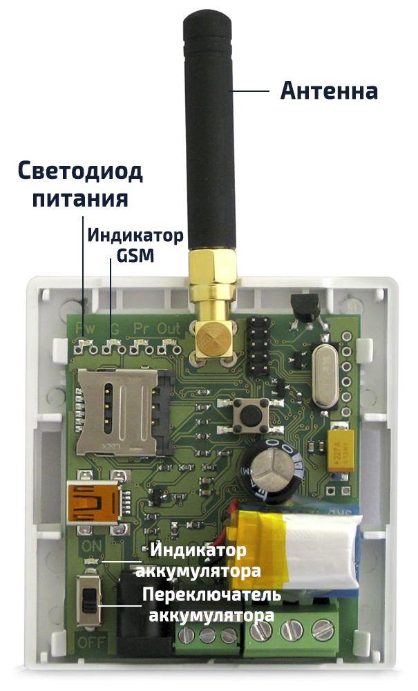 Инструкция по подключению GSM-модуля к котлу отопления