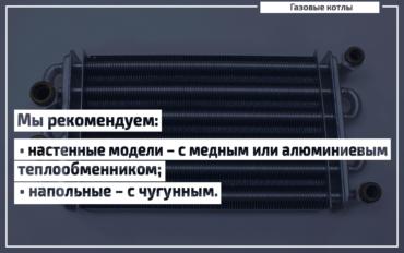 Теплообменник в газовом котле