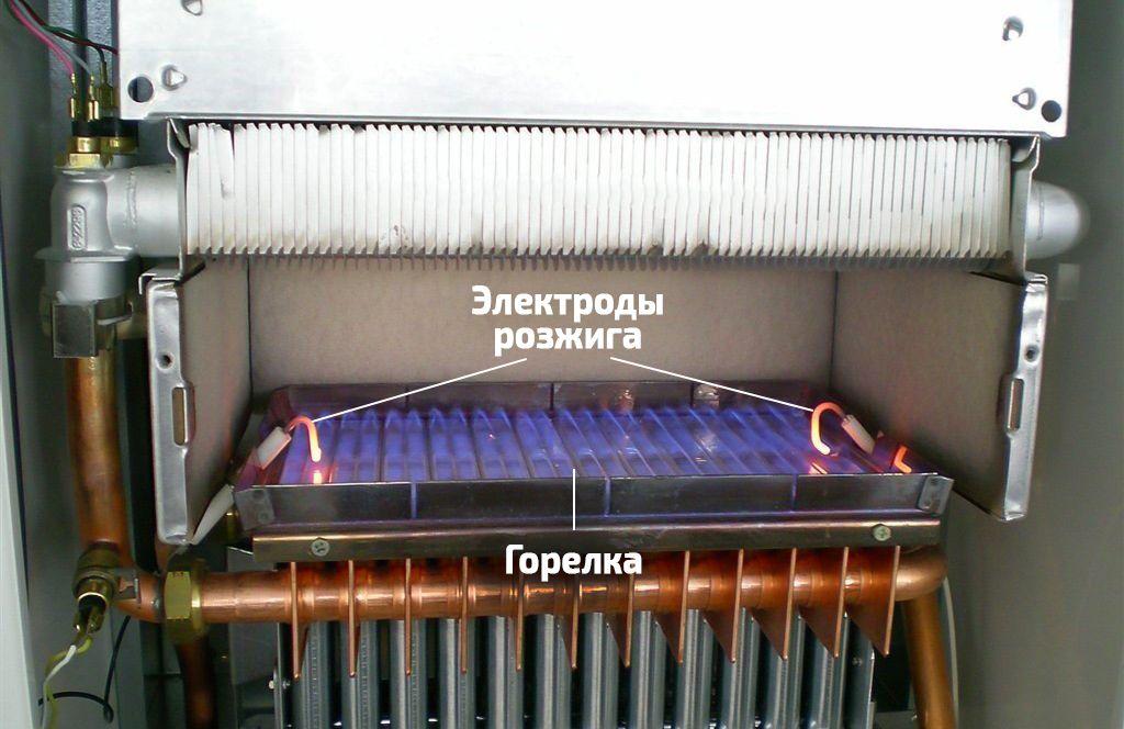 Горелка газового настенного котла