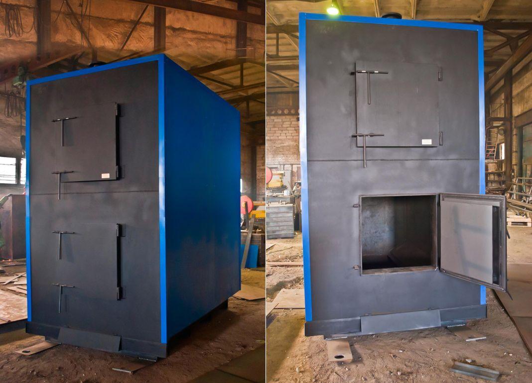 Промышленный твердотопливный котел на 1000 кВт