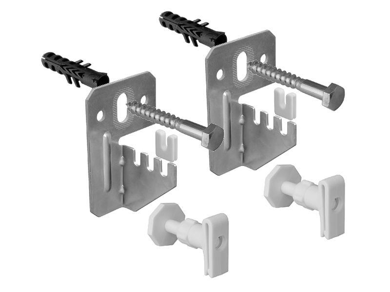 Кронштейны для трубчатых стальных радиаторов отопления