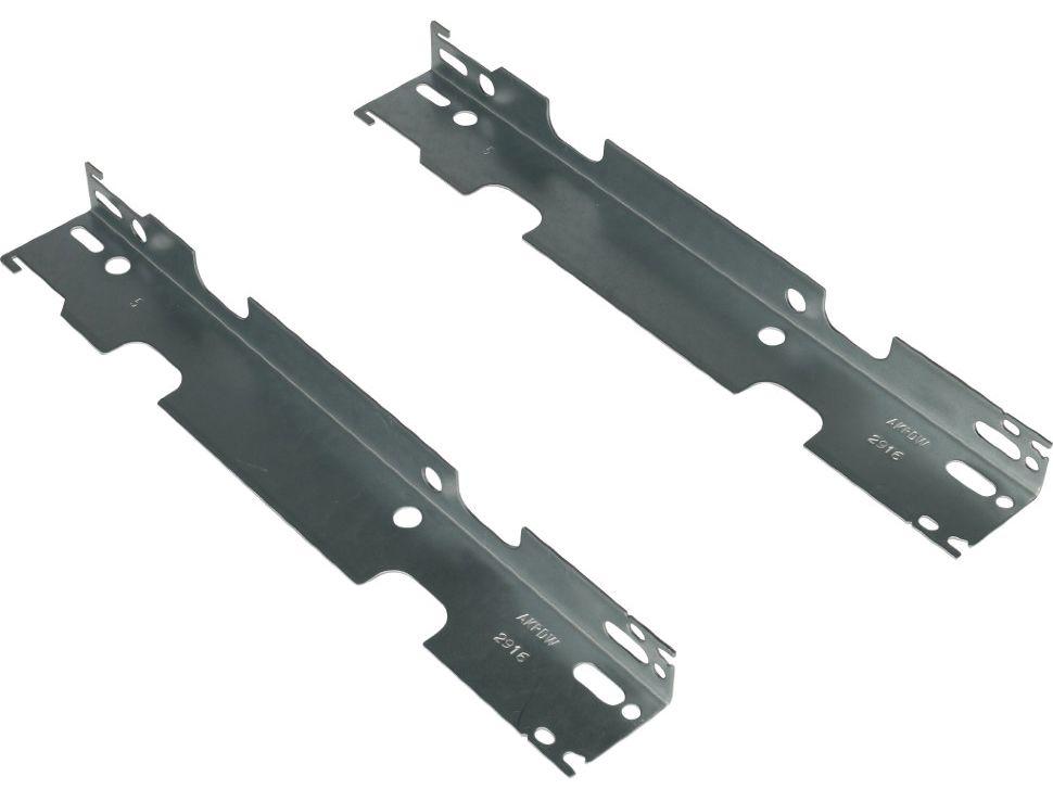 Стандартные крепления для стальных радиаторов отопления