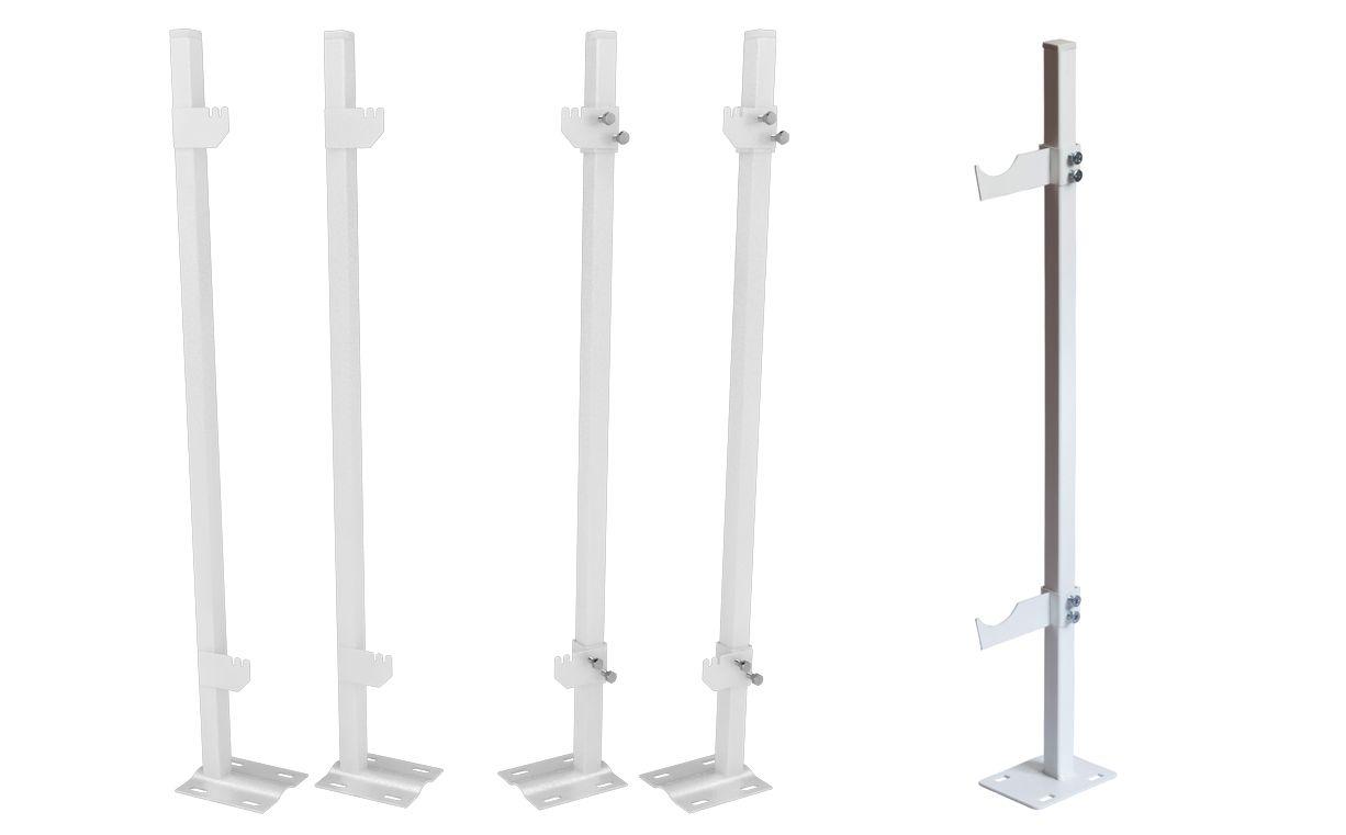 Стандартные напольные крепления для радиаторов отопления