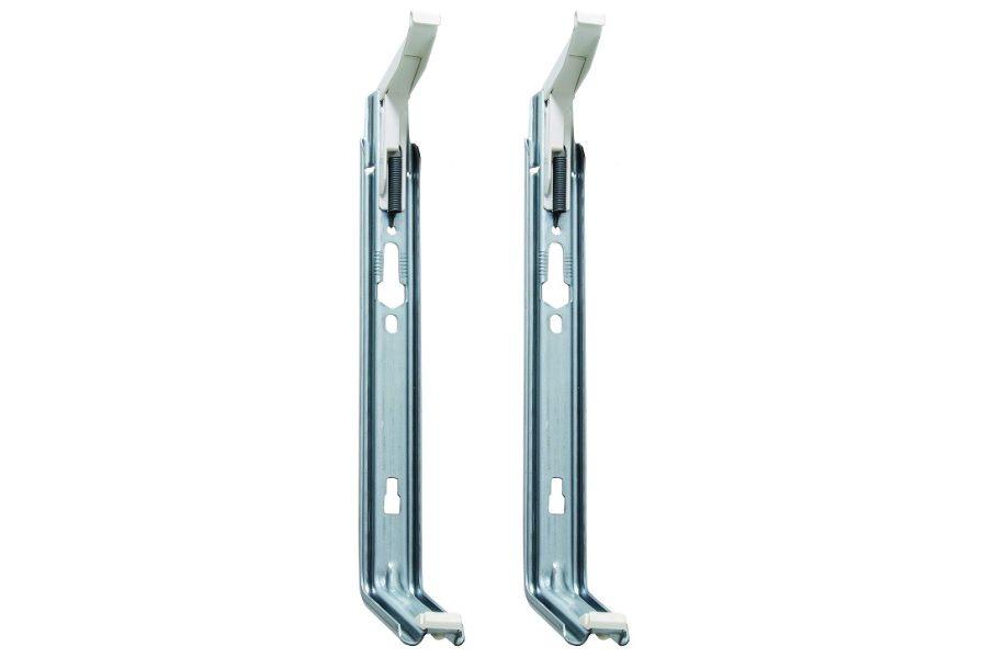Универсальные крепления для стальных панельных радиаторов отопления
