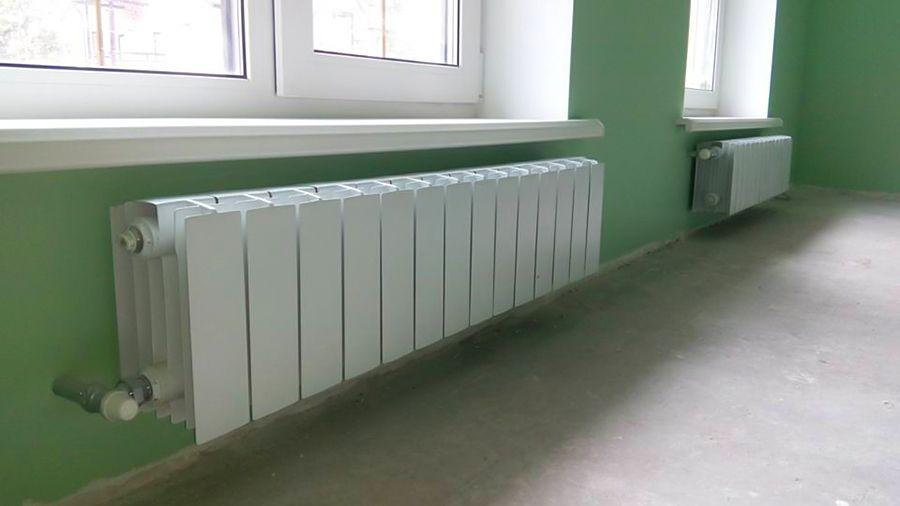 Алюминиевые невысокие радиаторы отопления