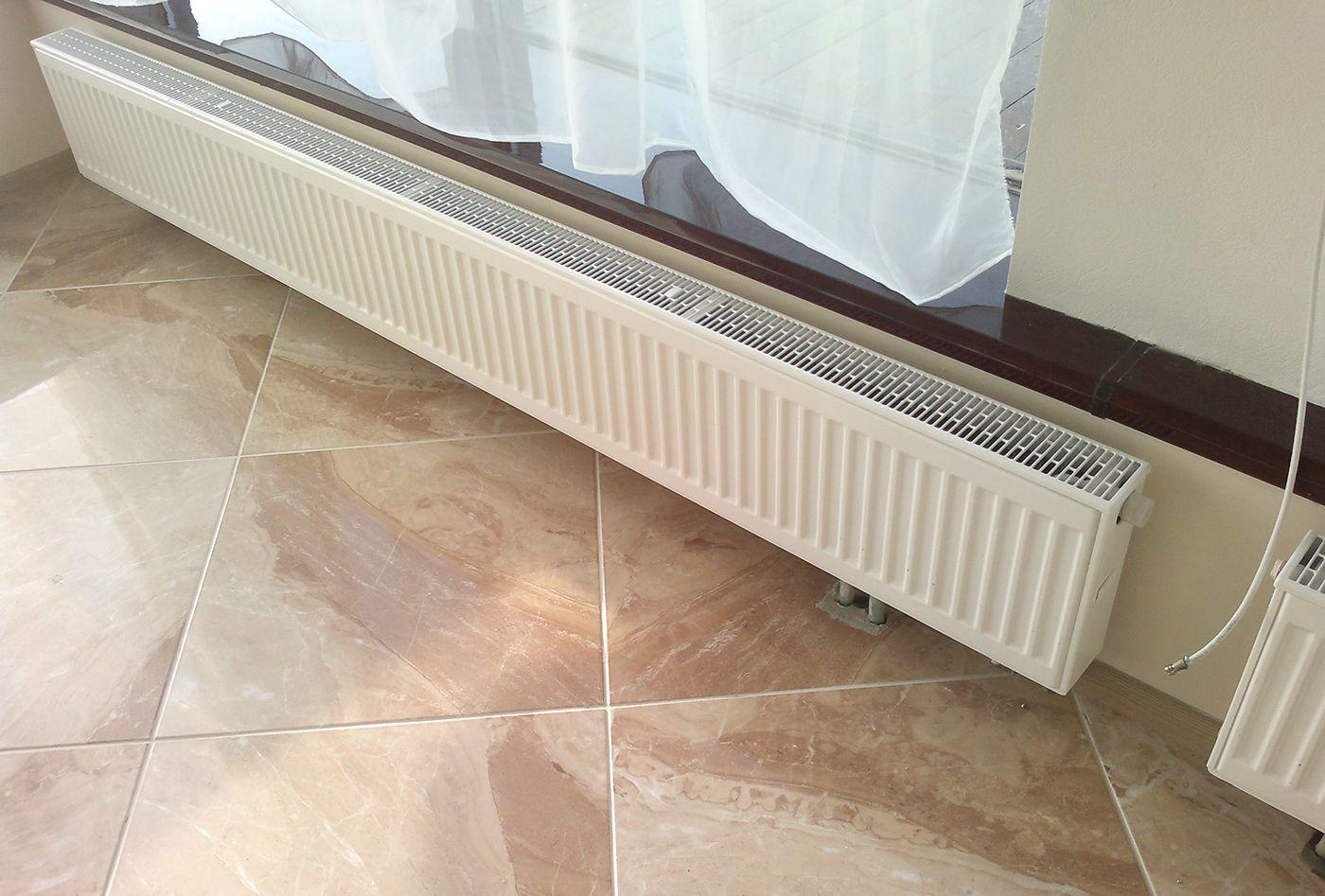 Низкие панельные радиаторы