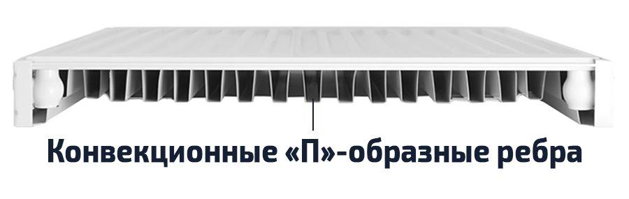 Стальной радиатор типа 11