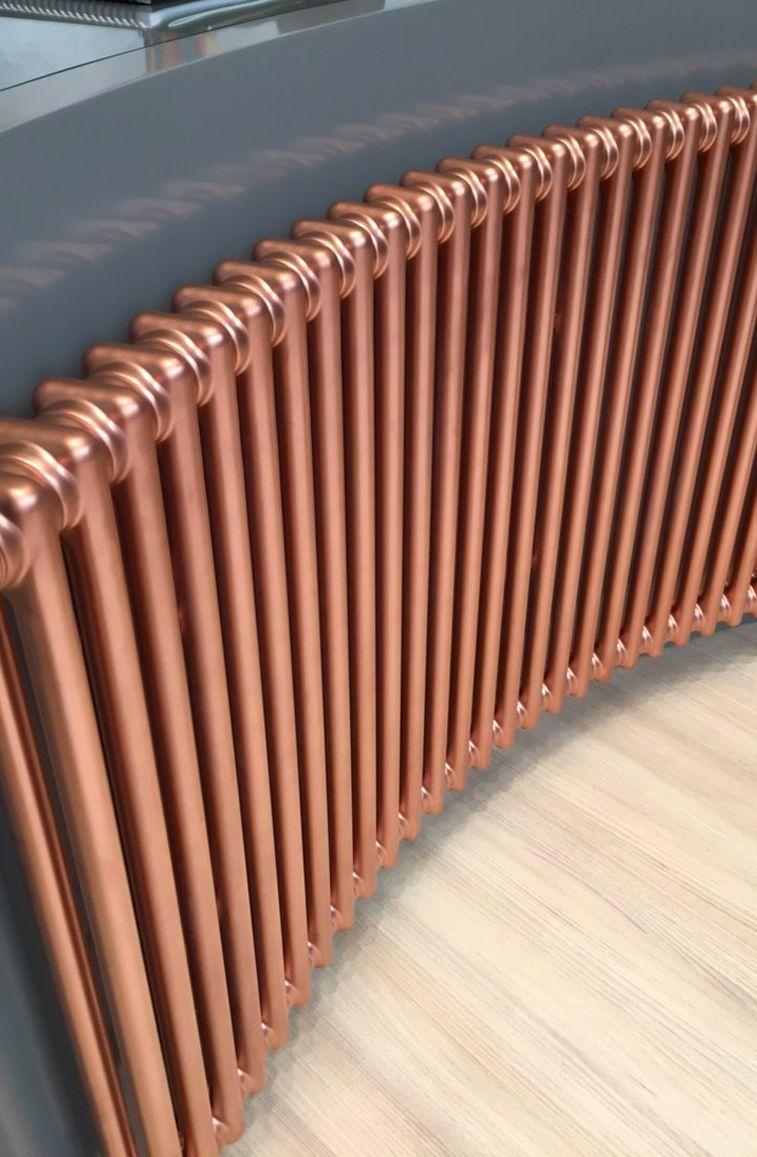 Трубчатые медные радиаторы отопления