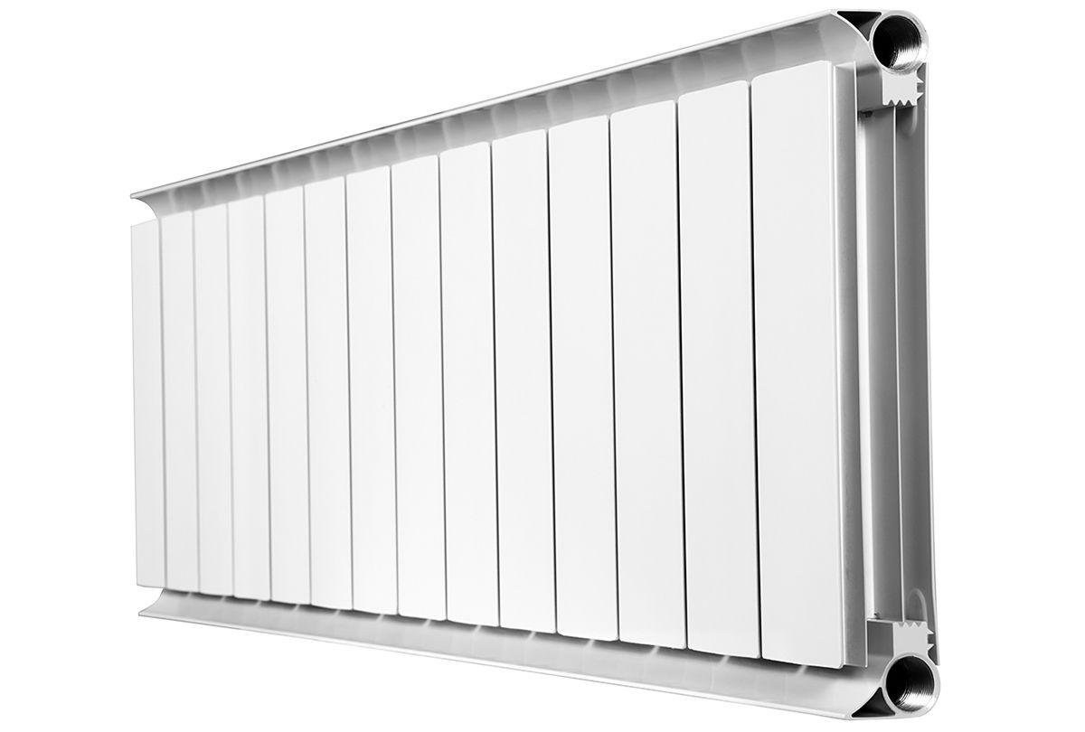 Неразборной алюминиевый радиатор