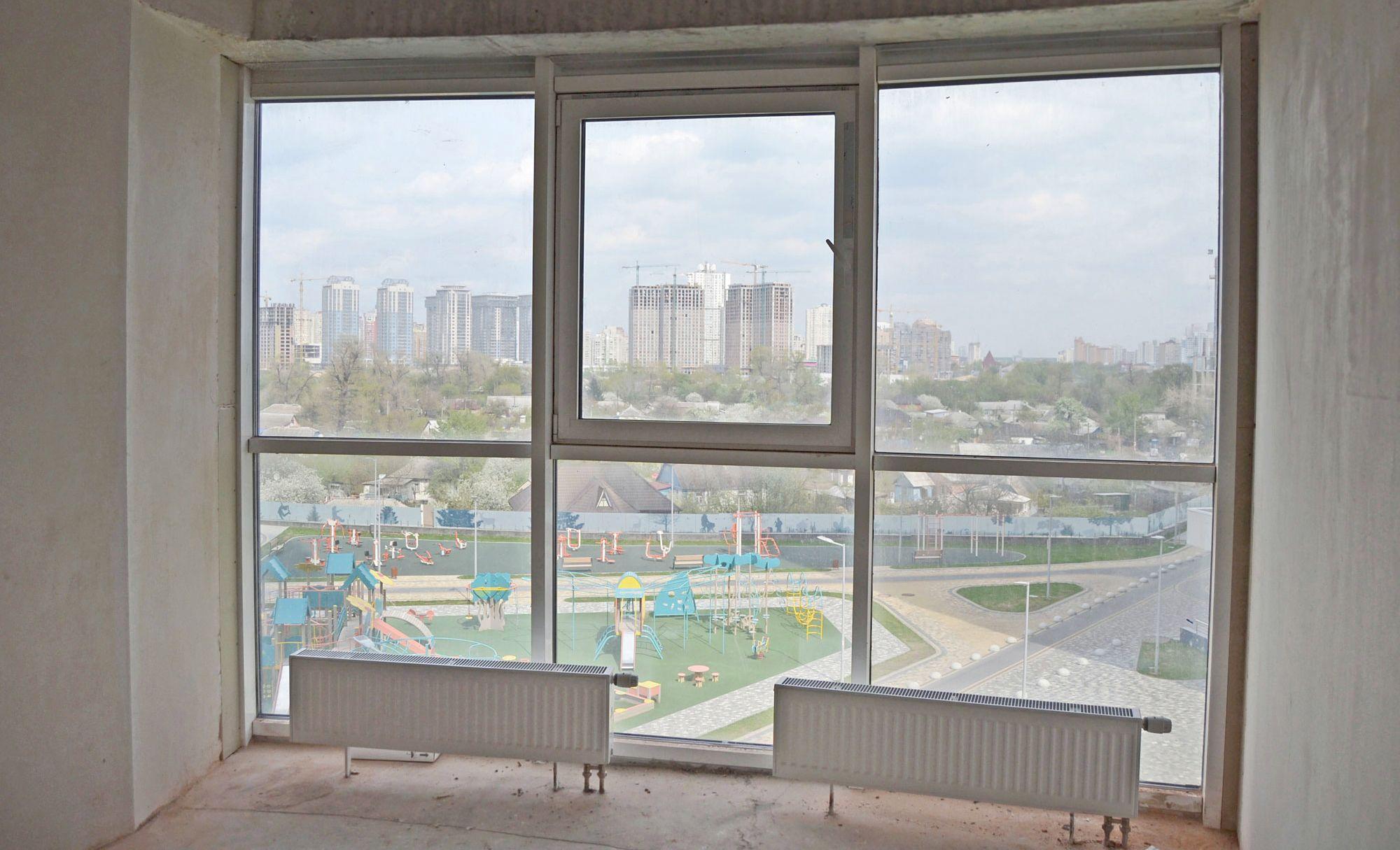 Радиаторы отопления при панорамных окнах