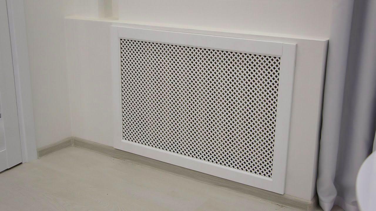 Экран на батарею отопления из гипсокартона