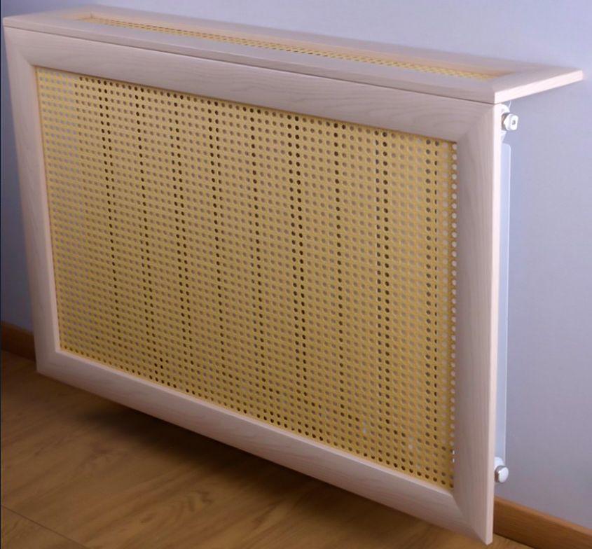 Экран на батарею отопления из ротанга_1