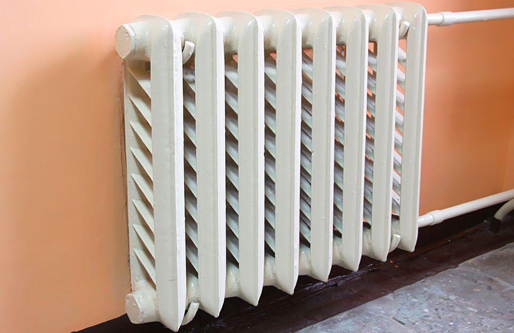 Старые чугунные радиаторы