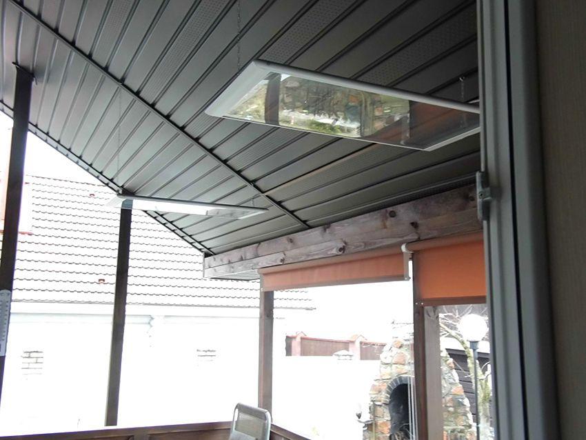 Стеклянные потолочные ИК обогреватели