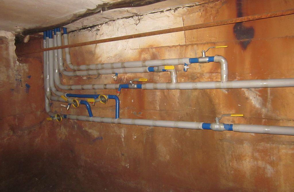 Трубопровод отопления